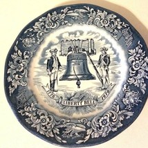 Vtg Avon Liberty Bell 1976 American Bicentennial Plate England by Enoch Wedgwood - $14.85