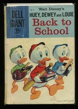 Dell Giants #22 G 1959 Dell Huey, Duey, and Louie Back To School Comic Book - $6.59