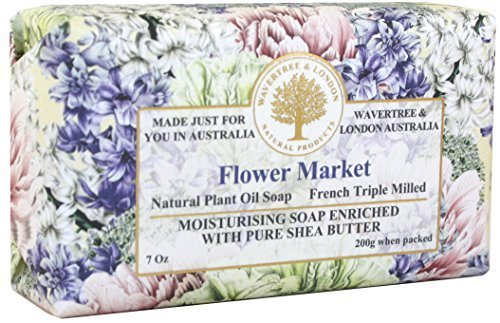 Wavertree & London Flower Market luxury soap (1 bar)