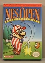 NES Open Tournament Golf (Nintendo NES 1991) Complete in Box CIB Near Mint Mario - $299.95