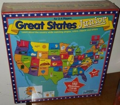 International Playthings Great States Junior USA Game New & Sealed Geogr... - $17.71