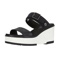 Timberland Women's Koralyn Black & White Sandals A26SF - $69.99