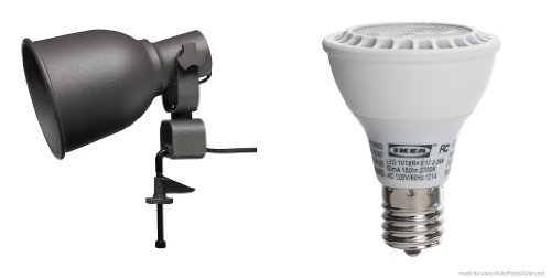 364e642cf98 31cm4qlpgll. sl1500. 31cm4qlpgll. sl1500. IKEA - HEKTAR Wall clamp  spotlight and LEDARE LED bulb E17 reflector R14