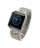 Stainless Steel Watchband for Fitbit Blaze - Silver - $16.67