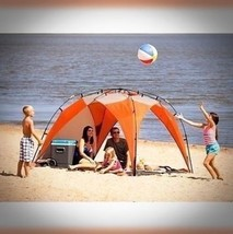 INSTANT BEACH TENT SUN SHADE OUTDOOR PORTABLE C... - $77.95