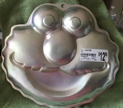 Wilton Aluminum Elmo Shaped Cake Pan, 2002 NWT - $11.83