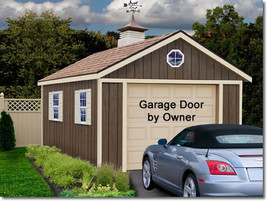 Best Barns Sierra 12x16 Wood Storage Garage Shed Kit - ALL Pre-Cut - $3,098.97