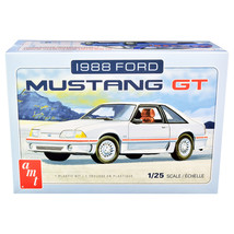 Skill 2 Model Kit 1988 Ford Mustang GT 1/25 Scale Model by AMT AMT1216M - $48.99