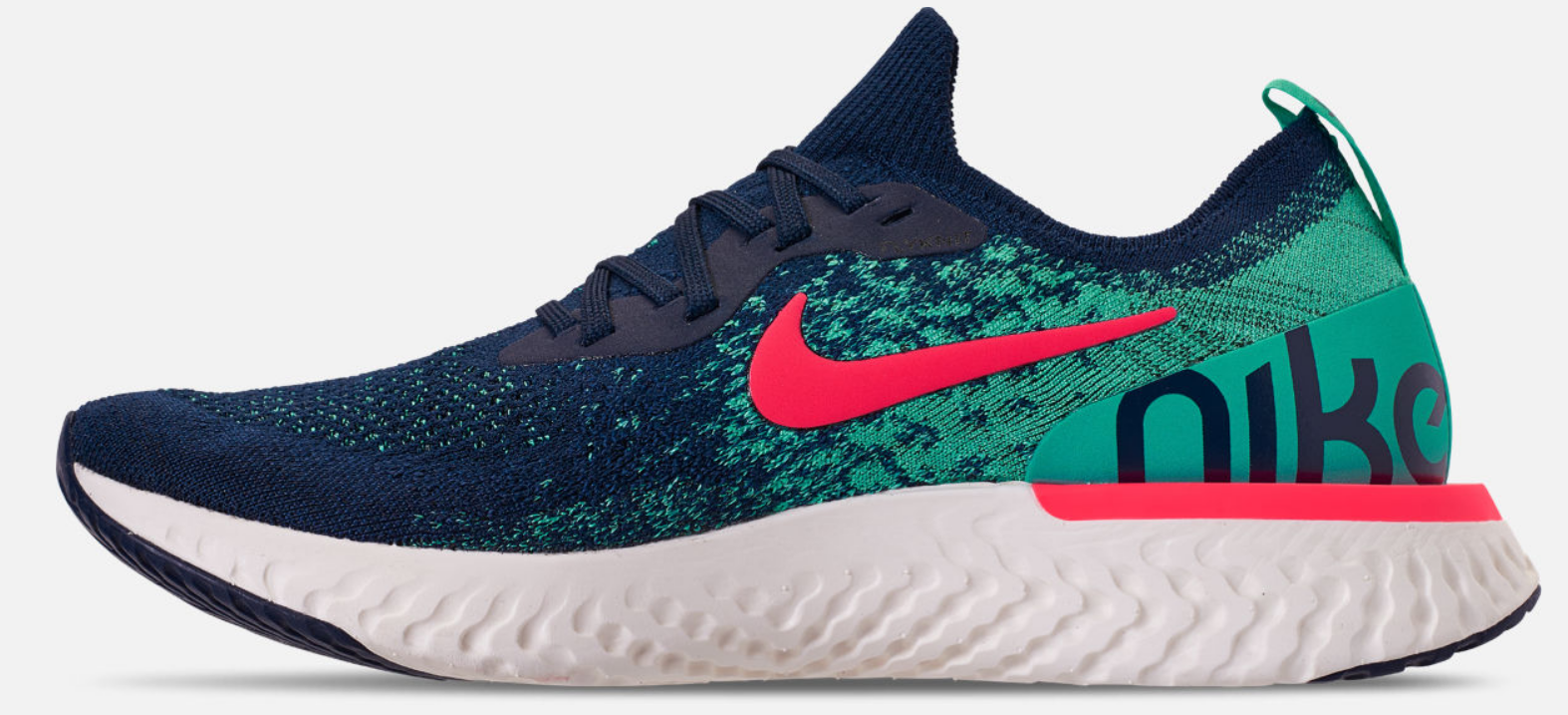 Nike Epic React Flyknit Size US 12 M (D) EU 46 Men's Running Shoes AR5413-400 image 3