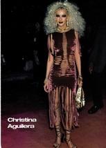 Christina Aguilera teen magazine pinup clipping Bop Teen Beat