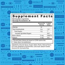 Vitafive Extra Strength Biotin Gummy Vitamins for Beauty, Hair, Skin and Nail St image 7