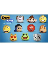 NEW McDonald's 2017 Emoji Movie Plush Happy Meal Toy #8 Frog New In Pack... - $3.75