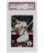 Mike Trout 2011 Topps #US175 Los Angeles Angels Update Card PSA GM 10 - $6,929.99