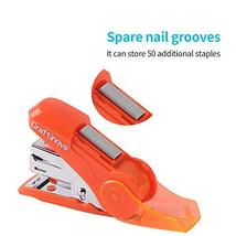 Craftinova Mini Stapler, 3pack, Including 1000 Staples, Built-in Stage Remover a image 2