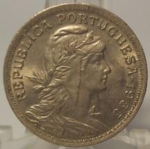 KM #577 Portugal 1955 50 Centavos UNC #0991 - $4.99
