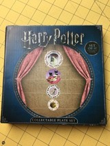 NEW Harry Potter Collectable Plate Set Set of 4 Lootcrate - $21.51