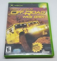 Test Drive Off-Road: Wide Open with Manual (Microsoft Xbox, 2001) - $11.87