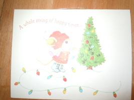 Vintage Merry Mice American Greetings Christmas Card - $3.99