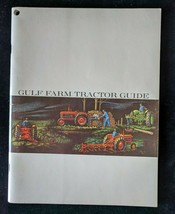 Vintage 1960s GULF Farm Tractor Guide Book - Maintenance Lubrication Etc... - $11.26