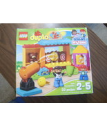 LEGO DUPLO MY TOWN 6175777 SHOOTING GALLERY 10839 DAMAGED BOX 32 PIECES - $33.00