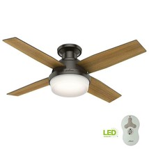 """(PARTS ONLY) Hunter Dempsey 44"""" Low Profile LED Indoor Noble Bronze Ceil... - $4.94+"""