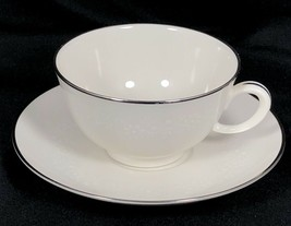 Noritake Montblanc Ivory China Set of 4 Tea Cups and Saucers 7527 Japan - £30.38 GBP