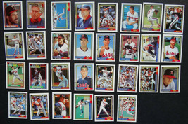 1992 Topps Micro Mini California Angels Team Set of 30 Baseball Cards - $2.99