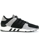 NEW $160 Adidas Originals EQT Support RF Primeknit Sneakers Black White ... - $82.47