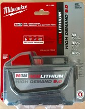 Milwaukee 48-11-1890 M18 Red Lithium 9.0 Battery Pack - $98.00