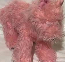 "Build a Bear BABW Scottie Terrier Westie Dog Stuffed Plush Pink Collar 15"" - $36.30"