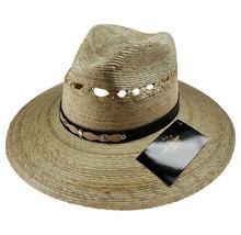 Men's El General Natural Palm Hat Sombrero Exploret Tendido Palma Natural - €27,20 EUR