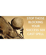 100x FULL COVEN STOP THOSE WHO BLOCK YOUR SUCCESS HIGHEST MAGICK Witch  - $99.77