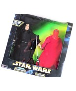 Star Wars Action Collection Electronic Emperor Palpatine & Royal Guard, Kenner - $28.70