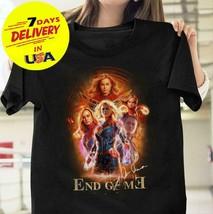 Avengers Endgame Captain Marvel Brie Larson Signature Tshirf for Marvel Fan - $12.99