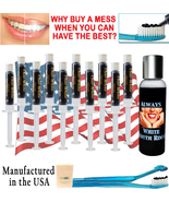 Natural Teeth Whitening Activated Charcoal Gel - Mint Flavor - Fresh Tee... - $15.29