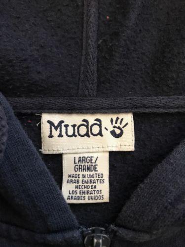 Mudd Hoodie Large Blue Zip Up Womens