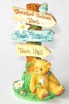 Cherished Teddies Town Tattler Signage - CRT109 - $6.93