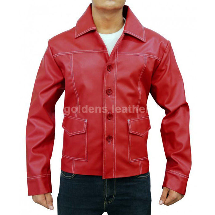 New Men's Stylish Lambskin Genuine Leather Motorcycle Biker Slim Fit Jacket GN16