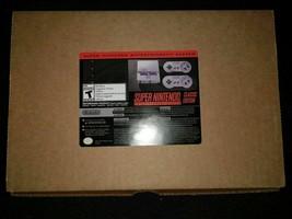 Authentic SNES Classic Super Nintendo Entertainment Mini System Brand Loaded - $296.95