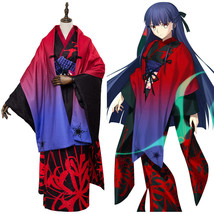 FGO Fate/Grand Order the Garden of Sinners Asagami Fujino Outfit Cosplay Costume - $108.10+