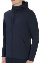 Hugo Boss Men's Sweater Zip Up Hoodie Sweatshirt Track Jacket Navy image 2