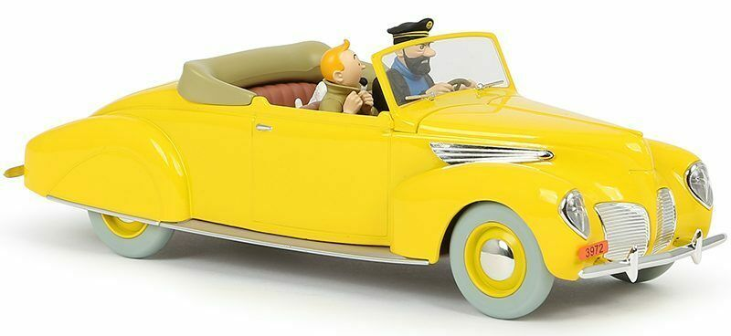 THE LINCOLN ZEPHYR 1/24 VOITURE TINTIN CARS NEW THE SEVEN CRYSTAL BALLS 2019