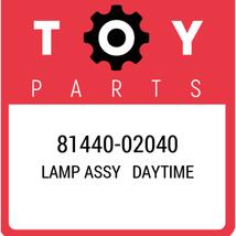 81440-02040 Toyota Lamp Assy Daytime, New Genuine OEM Part - $311.48