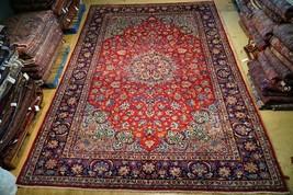 11x16 Najaf Persian Isfahan Zayandeh-Rood Weavers Rug 129 x 195 in Handmade - $4,015.29