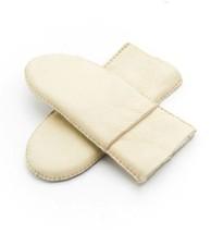 Women Fashion Heavy Type Winter Sheepskin Leather Fur Gloves Real Leathe... - $14.79