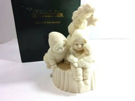 "Snowbabies by Department 56 ""I'll Love You Always"" Bisque Decor Figurine... - $49.49"