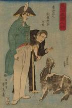 Russians and sheep (Roshiyajin shirasha yo? no zu) by Sadahide Utagawa - Art Pri - $19.99+