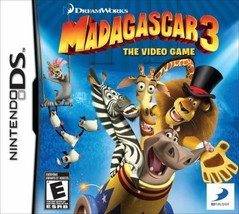 Madagascar 3: The Video Game (Nintendo DS, 2012)-Brand New Sealed Packaging - $8.19