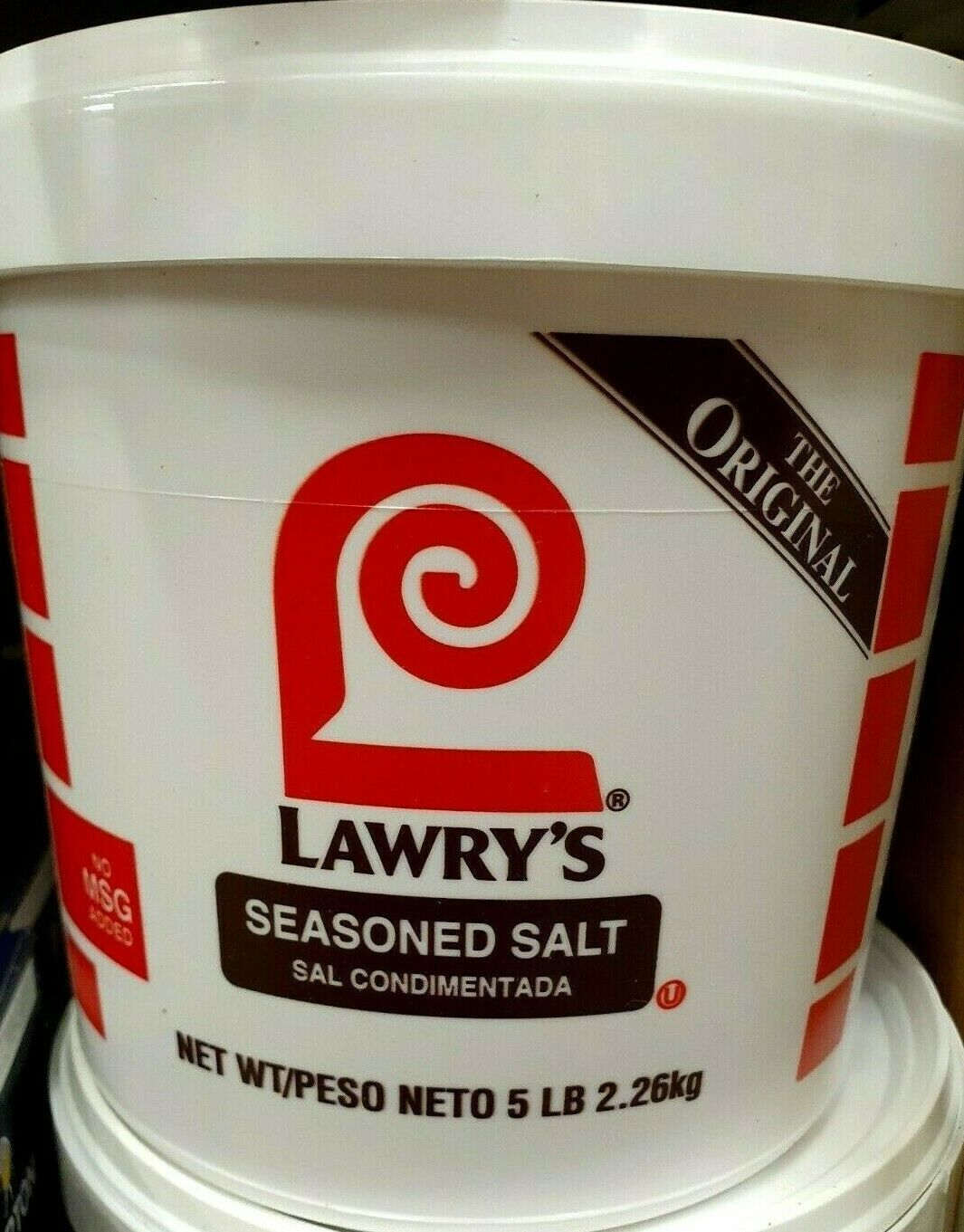 Primary image for Lawry's Seasoned Salt 5 lb. tub
