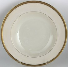 Lenox Tuxedo J33 Rimmed soup bowl / green mark  - $50.00
